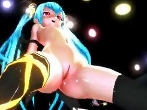 MMD Alice sexy dance